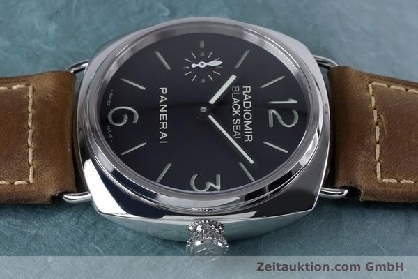 Used luxury watch Panerai Black Seal steel manual winding Kal. ETA B99501 Ref. OP6644, PAM00183  | 153653 05