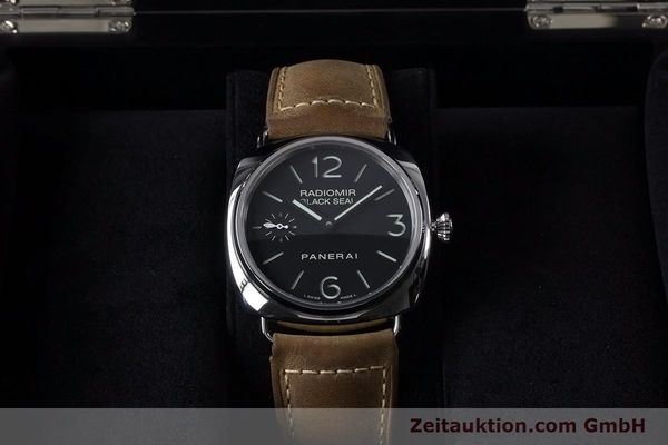 Used luxury watch Panerai Black Seal steel manual winding Kal. ETA B99501 Ref. OP6644, PAM00183  | 153653 07