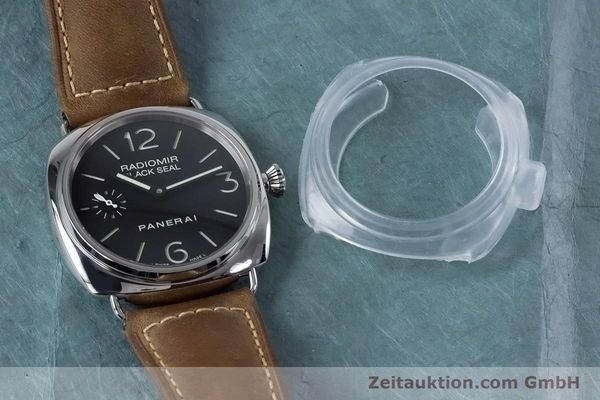 Used luxury watch Panerai Black Seal steel manual winding Kal. ETA B99501 Ref. OP6644, PAM00183  | 153653 11
