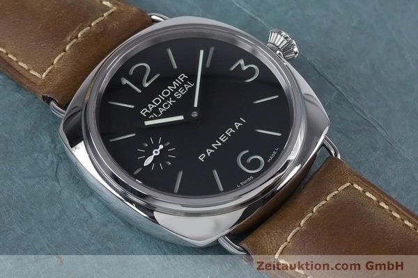 Used luxury watch Panerai Black Seal steel manual winding Kal. ETA B99501 Ref. OP6644, PAM00183  | 153653 18