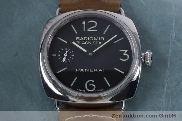 Used luxury watch Panerai Black Seal steel manual winding Kal. ETA B99501 Ref. OP6644, PAM00183  | 153653 19