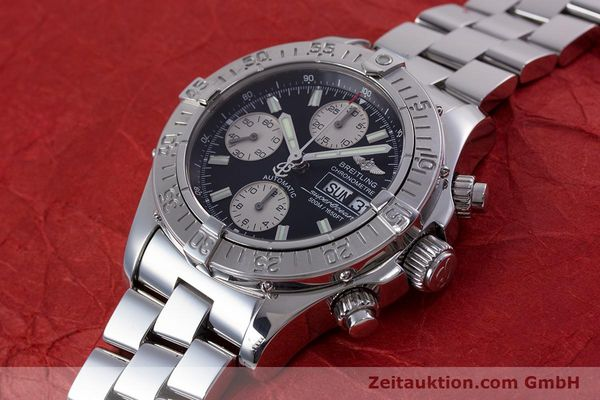 Used luxury watch Breitling Superocean Chronograph chronograph steel automatic Kal. B13 ETA 7750 Ref. A13340  | 153656 01