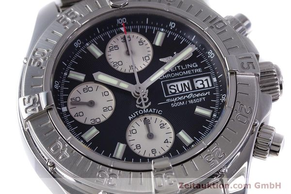 Used luxury watch Breitling Superocean Chronograph chronograph steel automatic Kal. B13 ETA 7750 Ref. A13340  | 153656 02