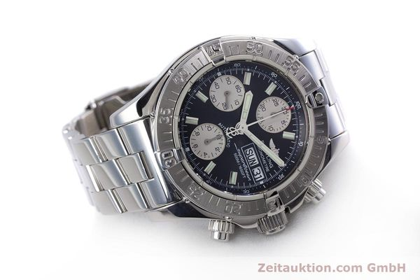Used luxury watch Breitling Superocean Chronograph chronograph steel automatic Kal. B13 ETA 7750 Ref. A13340  | 153656 03