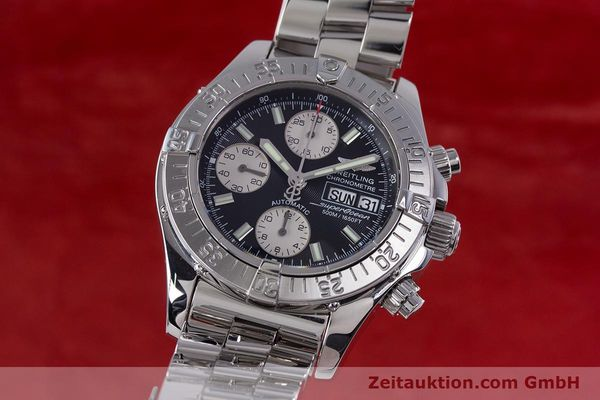 Used luxury watch Breitling Superocean Chronograph chronograph steel automatic Kal. B13 ETA 7750 Ref. A13340  | 153656 04
