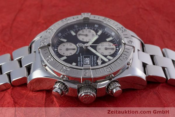 Used luxury watch Breitling Superocean Chronograph chronograph steel automatic Kal. B13 ETA 7750 Ref. A13340  | 153656 05