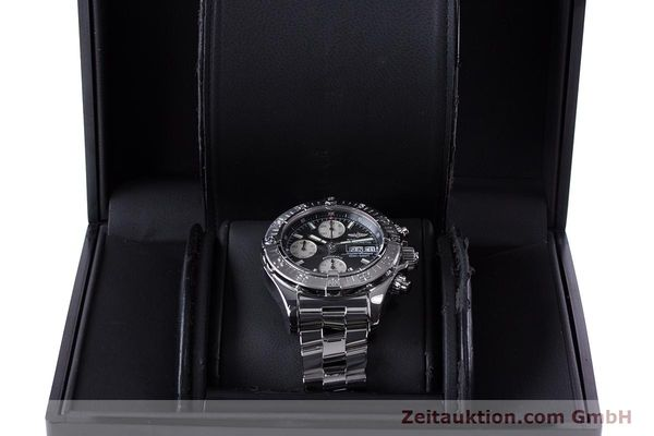 Used luxury watch Breitling Superocean Chronograph chronograph steel automatic Kal. B13 ETA 7750 Ref. A13340  | 153656 07