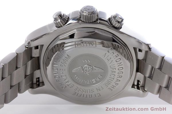 Used luxury watch Breitling Superocean Chronograph chronograph steel automatic Kal. B13 ETA 7750 Ref. A13340  | 153656 09