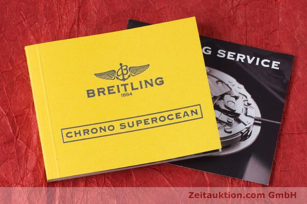 Used luxury watch Breitling Superocean Chronograph chronograph steel automatic Kal. B13 ETA 7750 Ref. A13340  | 153656 14