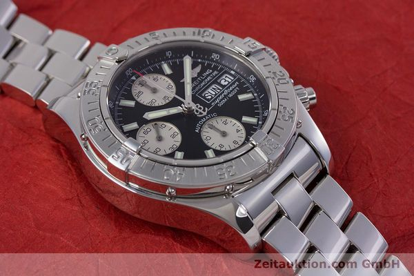 Used luxury watch Breitling Superocean Chronograph chronograph steel automatic Kal. B13 ETA 7750 Ref. A13340  | 153656 17