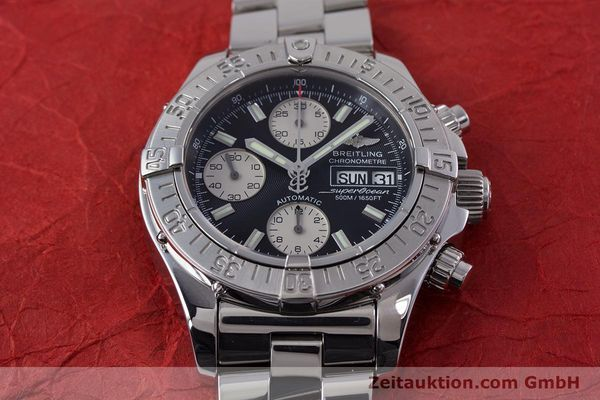 Used luxury watch Breitling Superocean Chronograph chronograph steel automatic Kal. B13 ETA 7750 Ref. A13340  | 153656 18