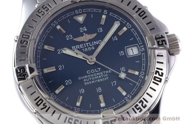 Used luxury watch Breitling Colt steel automatic Kal. B17 ETA 2824-2 Ref. A17350  | 153657 02