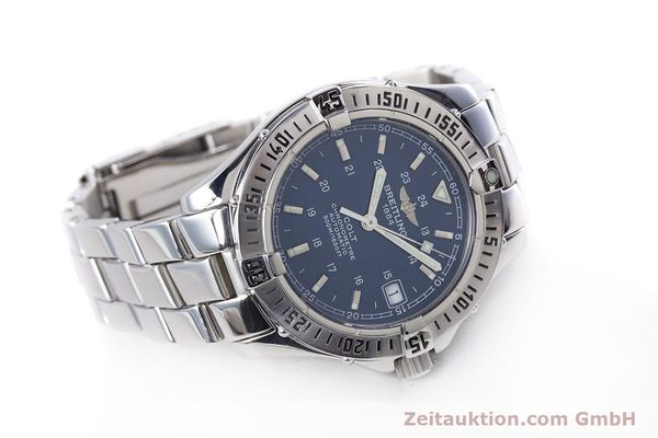 Used luxury watch Breitling Colt steel automatic Kal. B17 ETA 2824-2 Ref. A17350  | 153657 03