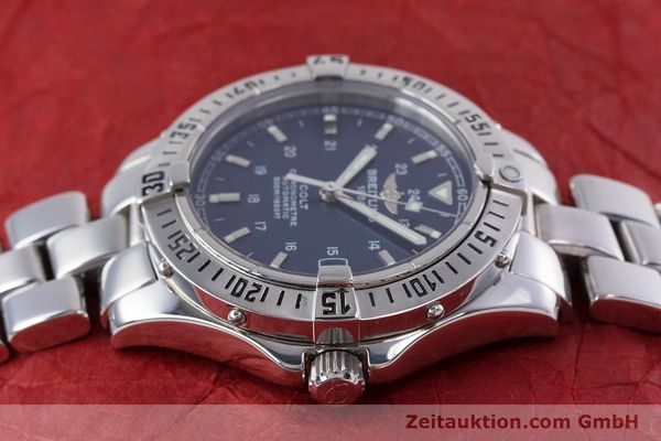 Used luxury watch Breitling Colt steel automatic Kal. B17 ETA 2824-2 Ref. A17350  | 153657 05