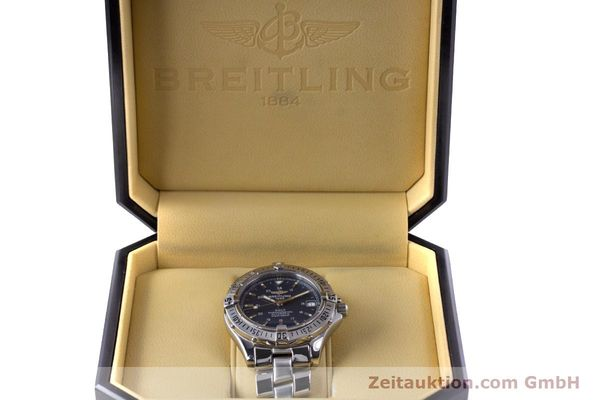 Used luxury watch Breitling Colt steel automatic Kal. B17 ETA 2824-2 Ref. A17350  | 153657 07