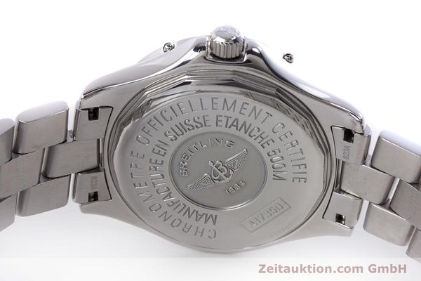 Used luxury watch Breitling Colt steel automatic Kal. B17 ETA 2824-2 Ref. A17350  | 153657 09