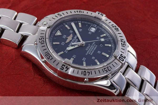 Used luxury watch Breitling Colt steel automatic Kal. B17 ETA 2824-2 Ref. A17350  | 153657 16