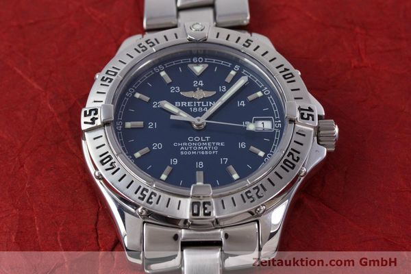 Used luxury watch Breitling Colt steel automatic Kal. B17 ETA 2824-2 Ref. A17350  | 153657 17