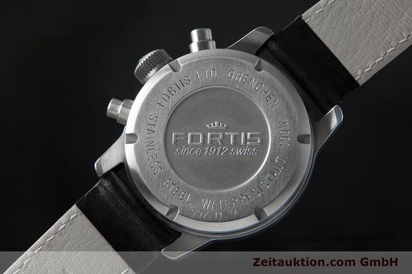 Used luxury watch Fortis Flieger Chronograph chronograph steel automatic Ref. 597.11.141.1  | 153659 02