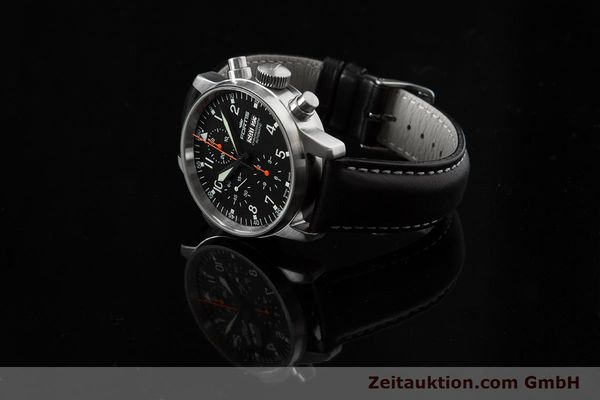 Used luxury watch Fortis Flieger Chronograph chronograph steel automatic Ref. 597.11.141.1  | 153659 04