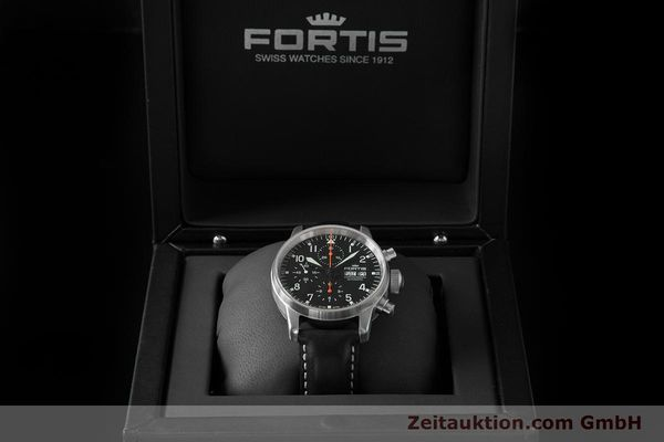 Used luxury watch Fortis Flieger Chronograph chronograph steel automatic Ref. 597.11.141.1  | 153659 07