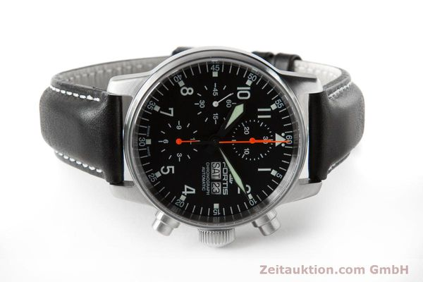 Used luxury watch Fortis Flieger Chronograph chronograph steel automatic Ref. 597.11.141.1  | 153659 09