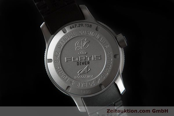Used luxury watch Fortis B-42 titanium automatic Ref. 647.29.158  | 153661 04