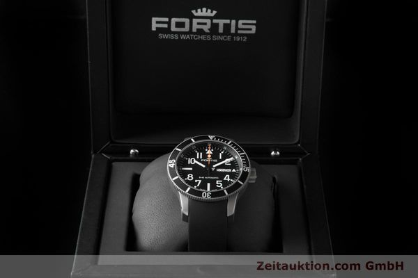 Used luxury watch Fortis B-42 titanium automatic Ref. 647.29.158  | 153661 07