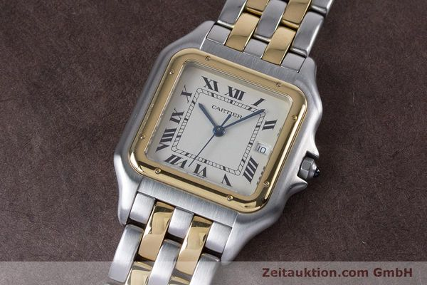 Used luxury watch Cartier Panthere steel / gold quartz Kal. 87.06  | 153666 01