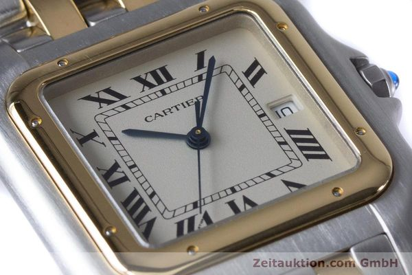 Used luxury watch Cartier Panthere steel / gold quartz Kal. 87.06  | 153666 02
