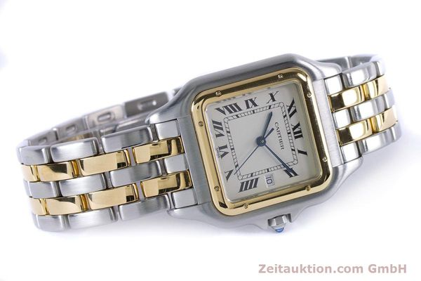 Used luxury watch Cartier Panthere steel / gold quartz Kal. 87.06  | 153666 03
