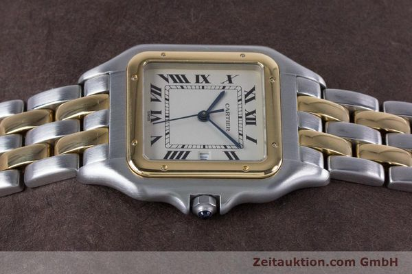 Used luxury watch Cartier Panthere steel / gold quartz Kal. 87.06  | 153666 05