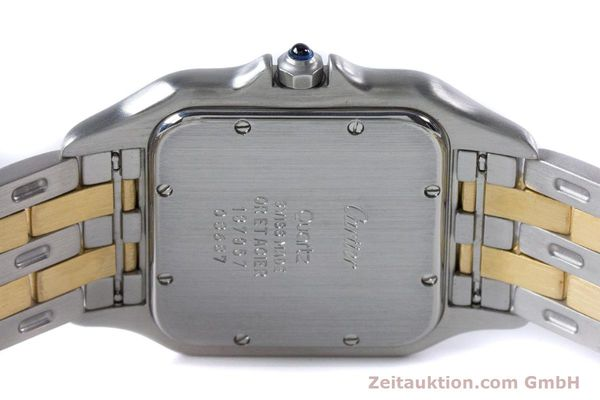 Used luxury watch Cartier Panthere steel / gold quartz Kal. 87.06  | 153666 09