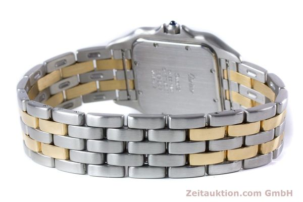 Used luxury watch Cartier Panthere steel / gold quartz Kal. 87.06  | 153666 10