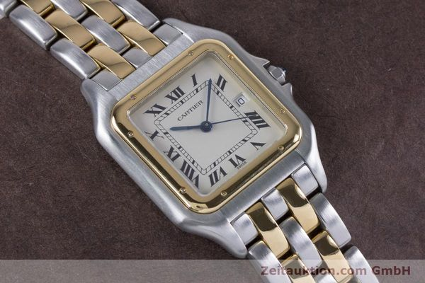 Used luxury watch Cartier Panthere steel / gold quartz Kal. 87.06  | 153666 12