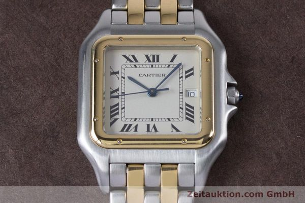Used luxury watch Cartier Panthere steel / gold quartz Kal. 87.06  | 153666 13