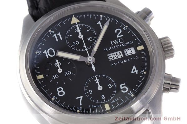 Used luxury watch IWC Fliegerchronograph chronograph steel automatic Ref. 3706  | 153670 02