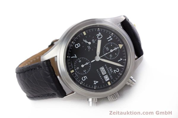 Used luxury watch IWC Fliegerchronograph chronograph steel automatic Ref. 3706  | 153670 03
