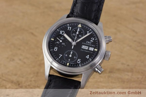 Used luxury watch IWC Fliegerchronograph chronograph steel automatic Ref. 3706  | 153670 04