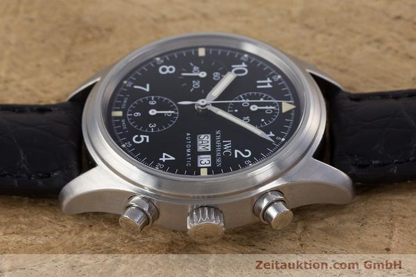 Used luxury watch IWC Fliegerchronograph chronograph steel automatic Ref. 3706  | 153670 05