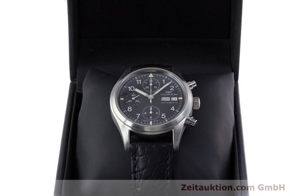 Used luxury watch IWC Fliegerchronograph chronograph steel automatic Ref. 3706  | 153670 07