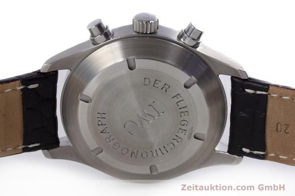 Used luxury watch IWC Fliegerchronograph chronograph steel automatic Ref. 3706  | 153670 08