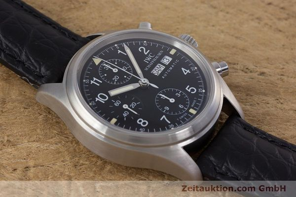 Used luxury watch IWC Fliegerchronograph chronograph steel automatic Ref. 3706  | 153670 14