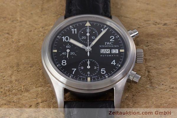Used luxury watch IWC Fliegerchronograph chronograph steel automatic Ref. 3706  | 153670 15