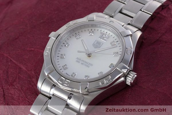 Used luxury watch Tag Heuer Aquaracer steel quartz Kal. ETA F06111 Ref. WAF1312  | 153673 01