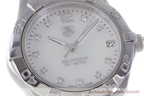 Used luxury watch Tag Heuer Aquaracer steel quartz Kal. ETA F06111 Ref. WAF1312  | 153673 02