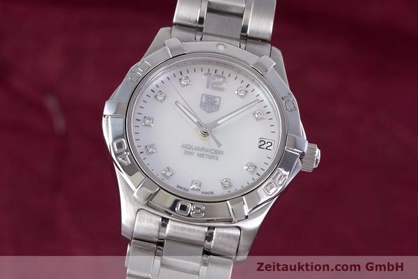 Used luxury watch Tag Heuer Aquaracer steel quartz Kal. ETA F06111 Ref. WAF1312  | 153673 04