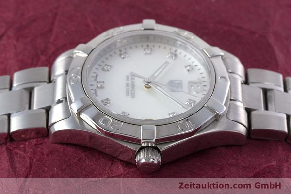 Used luxury watch Tag Heuer Aquaracer steel quartz Kal. ETA F06111 Ref. WAF1312  | 153673 05