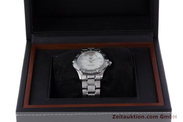 Used luxury watch Tag Heuer Aquaracer steel quartz Kal. ETA F06111 Ref. WAF1312  | 153673 07