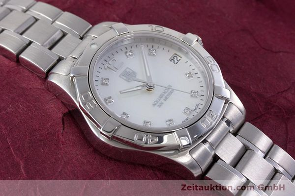 Used luxury watch Tag Heuer Aquaracer steel quartz Kal. ETA F06111 Ref. WAF1312  | 153673 13